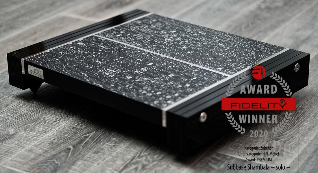 shambala -solo- award